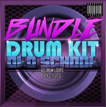 Сэмплы Kryptic Samples Drum Kit Old School Bundle