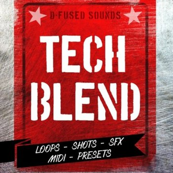 Сэмплы D-Fused Sounds Tech Blend