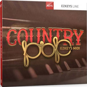 Расширение Toontrack Country Pop EZkeys MIDI