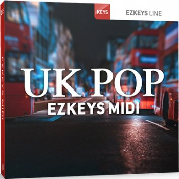 Расширение Toontrack UK Pop EZkeys MIDI