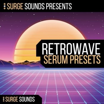 Сэмплы и пресеты - Surge Sounds Retrowave For Serum
