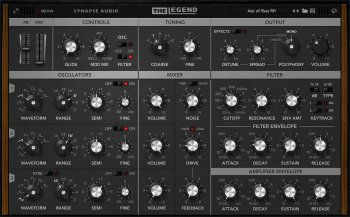 Synapse Audio The Legend v1.3.0.5 x86 x64