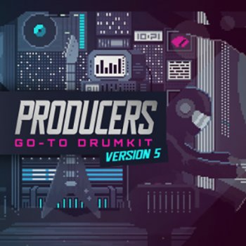 Сэмплы ударных - IndustryKits Producers Go To DrumKit 5