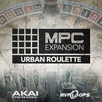 Сэмплы AKAI MPC Software Expansion Urban Roulette