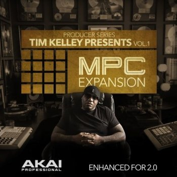 Сэмплы AKAI MPC Software Expansion Tim Kelley Presents Vol.1