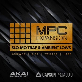 Сэмплы AKAI MPC Software Expansion Slo-Mo Trap+Ambient Lows