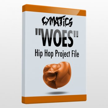 Проект Cymatics Woes: Hip Hop Project File