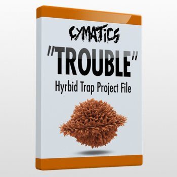 Проект Cymatics Trouble - Hybrid Trap Project File