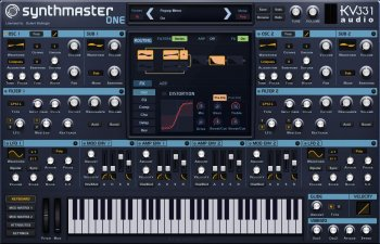 KV331 Audio SynthMaster One v1.1.6 x86 x64