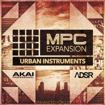 Сэмплы AKAI MPC Software Expansion Urban Instruments