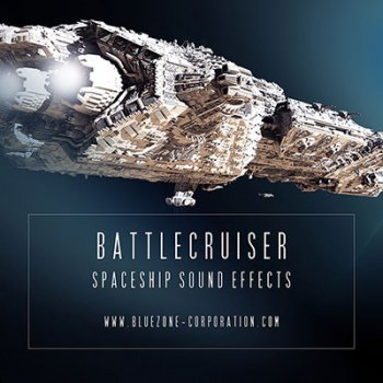 Звуковые эффекты - Bluezone Corporation Battlecruiser Spaceship Sound Effects