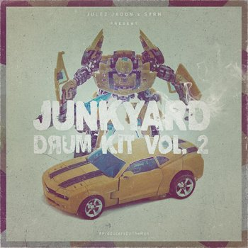 Сэмплы Julez Jadon Junkyard Drum Kit Vol 2