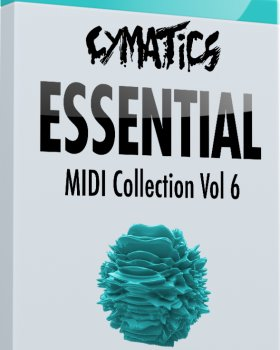 MIDI файлы - Cymatics Essential MIDI Collection Vol.6