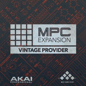 Сэмплы AKAI MPC Software Expansion Vintage Provider