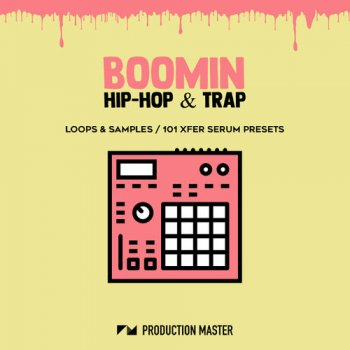 Сэмплы Production Master Boomin Hip Hop And Trap