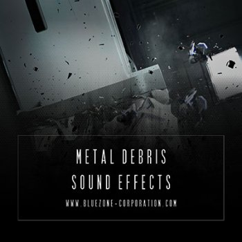 Звуковые эффекты - Bluezone Corporation Metal Debris Sound Effects