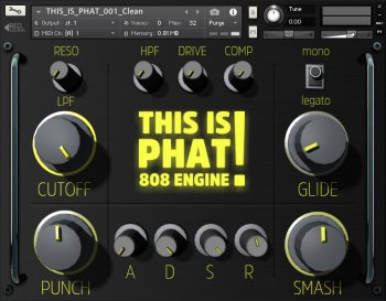 Red Sounds This Is Phat 808 Engine (KONTAKT)