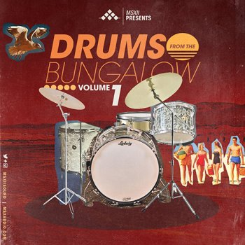 Сэмплы MSXII Drums From The Bungalow Vol.1