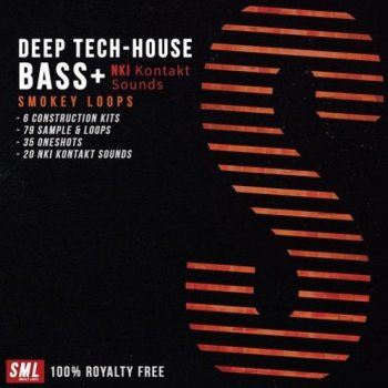 Сэмплы Smokey Loops Deep Tech House Bass