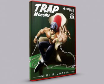 Сэмплы Initial Audio Trap Monster Construction Kit Vol 1