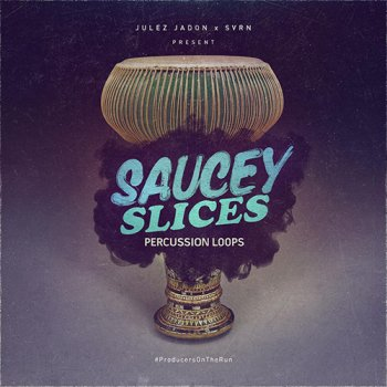 Сэмплы Julez Jadon Saucey Slices Percussion Loops