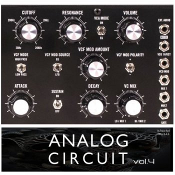 Сэмплы BFractal Music Analog Circuit Vol.4