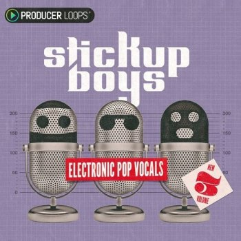 Сэмплы Producer Loops Stick Up Boys Electronic Pop Vocals Vol 3