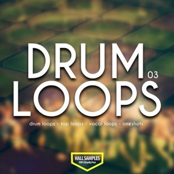 Сэмплы Hall Samples Drum Loops Vol 3