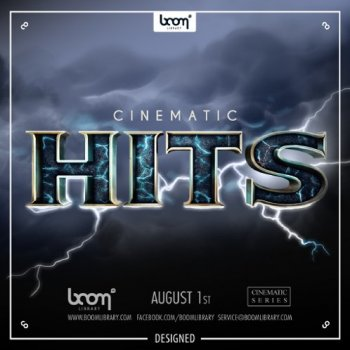 Звуковые эффекты - Boom Library Cinematic Hits Designed