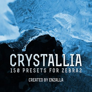Пресеты u-he Enzalla - Crystallia for Zebra 2