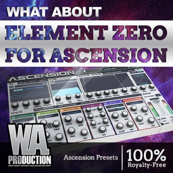 Пресеты W.A.Production Element Zero Expansion For Ascension