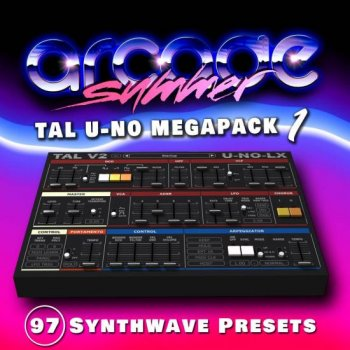 Пресеты Arcade Summer - Presets Megapack 1- 4 for TAL-U-NO-LX