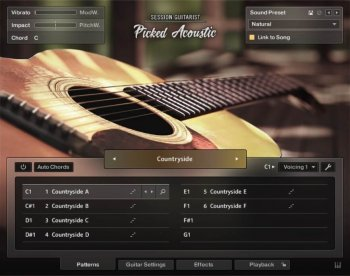 Библиотека сэмплов - Native Instruments Session Guitarist Picked Acoustic v1.0 (KONTAKT)