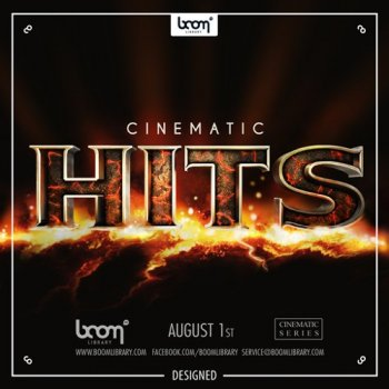 Звуковые эффекты - Boom Library Cinematic Hits Construction Kit