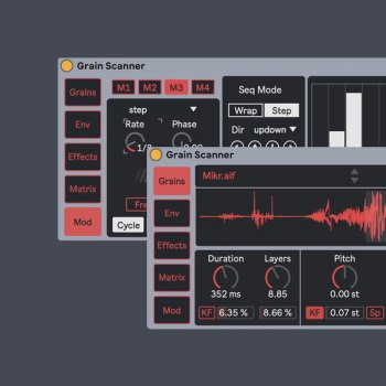 Amazing Noises Grain Scanner v1.1 (Ableton Live)