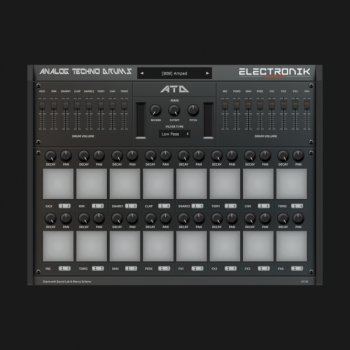 Electronik Sound Lab Analog Techno Drums v1.2.0 x64