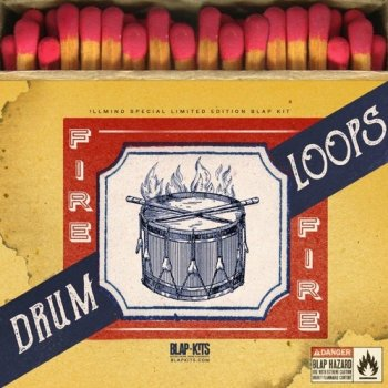 Сэмплы Illmind Fire Drum Loops (Limited Edition Pack)