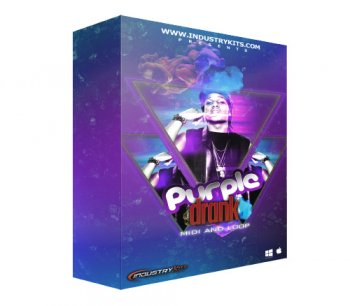 Сэмплы IndustryKits Purple Drank MIDI and Loop Pack