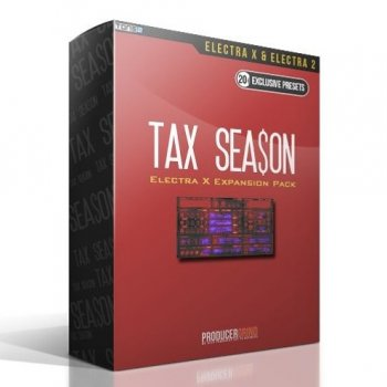 Пресеты Producergrind The Tax Season Electra X Expansion Pack
