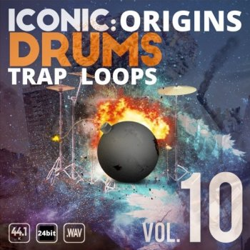 Сэмплы Epic Stock Media Iconic Origins Trap Drum Loops Vol.10