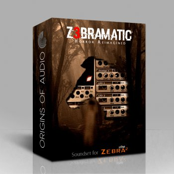 Пресеты Origins of Audio Z3bramatic Soundset for Zebra2