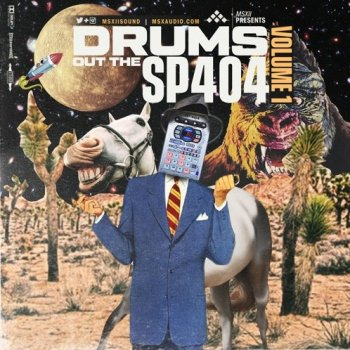 Сэмплы MSXII Sound - Drums Out The SP404 Vol.1