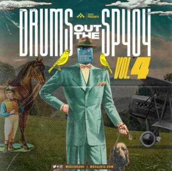 Сэмплы MSXII Sound - Drums Out The SP404 Vol.4