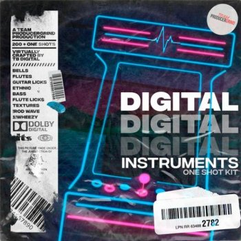 Сэмплы ProducerGrind TB Digital Digital Instruments One Shot Kit