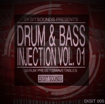 Пресеты Eksit Sounds Drum And Bass Injection Volume 1 for Serum