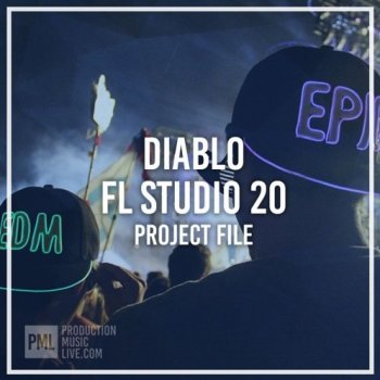 Проект Production Music Live Nervz DIABLO FL Studio Template