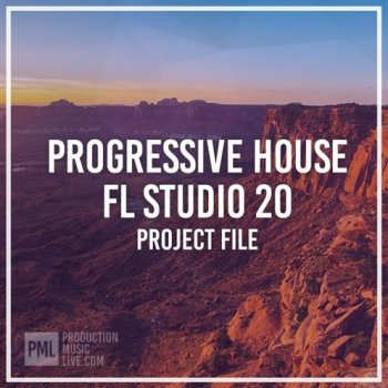 Проект Production Music Live LIFT Progressive House FL Studio Project