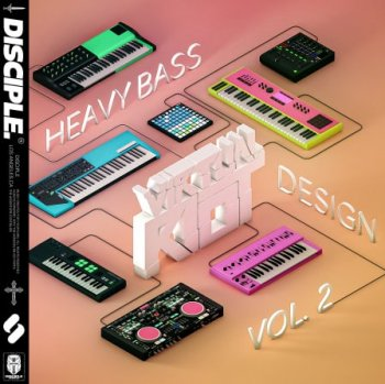 Сэмплы Disciple Samples Virtual Riot Heavy Bass Design Vol. 2