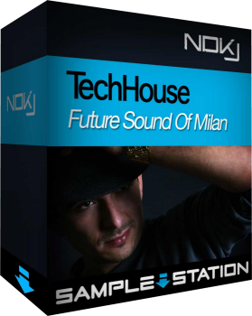 Сэмплы Sample Station NDKJ Tech House Future Sound of Milan (WAV)