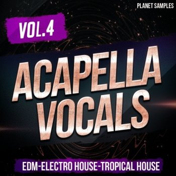 Сэмплы вокала - Planet Samples Acapella Vocals Vol 4